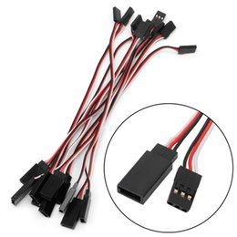 Futaba online shopping - 100pcs mm Lead Servo Extension Wire Cable Cord For Futaba JR Male To Female