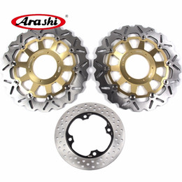 $enCountryForm.capitalKeyWord NZ - ARASHI For HONDA CBR954RR 2002 2003 Front Rear Brake Disc Rotors Disk Kit CBR 954 RR CBR954 954RR 02 03