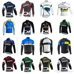 Discount orbea bike cycling long - ORBEA team Cycling long Sleeves jersey Men Quick Dry High quality Mountain Bike Cycling Clothes With Ropa Ciclismo C2916