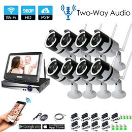 $enCountryForm.capitalKeyWord Australia - 8CH two way audio talK HD Wireless NVR Kit P2P 960P Indoor outdoor IR Night Vision Security 1.3MP IP Camera WIFI CCTV System