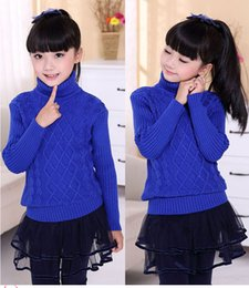 Stock Clothes Winter Australia - In stock,2-15 yrs,new fashion arrival children sweater boy and girls for winter turtleneck warm sweater,children clothes,