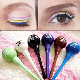 $enCountryForm.capitalKeyWord Australia - Eyeliner liquid multicolor lollipop cosmetic waterproof liquid eyeliner eye liner pencil pen makeu