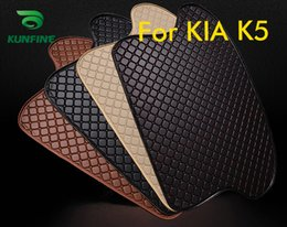 Trunk Liner Carpet Australia - Car Styling Car Trunk Mats for Kia K5 Trunk Liner Carpet Floor Mats Tray Cargo Liner Waterproof 4 Colors Opitional