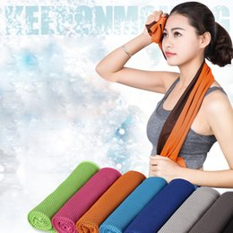 $enCountryForm.capitalKeyWord NZ - 2017 New Fashion Fitness Dry Cooling Sports Towel For Gym Best Workout face Iced Sweat Towels Quick-Dry High Quality Hot Sale ##