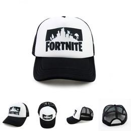 8ba0d719b44 Fortnite 3D Print Baseball Caps 2 Designs New Game Fortnite Fans Cool Mesh Caps  Hip-pop Streetwear Snapback Summer Trucker Caps LA786