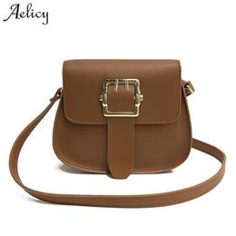 Aelicy High Quality PU Leather Women Messenger Bags Cross Body Bag Mini  Fake Designer Handbags Vintage Crossbody Bags For Women 155258e0525aa