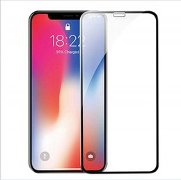 $enCountryForm.capitalKeyWord Australia - Premium Tempered Glass Edge to Edge Coverage Screen Protectors HD Ultra Clear Bubble For Apple iPhone Xr Xs Max X 8Plus Without Packaging