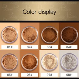 More powder online shopping - Pudaier Colors Loose Powder Crystal Bronzing Powder More Breathable Fine Powder