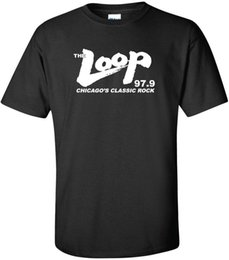 $enCountryForm.capitalKeyWord Australia - New THE LOOP Chicago's Classic Rock 97.9 FM Radio Station Black T-Shirt Cool Casual pride t shirt men Unisex