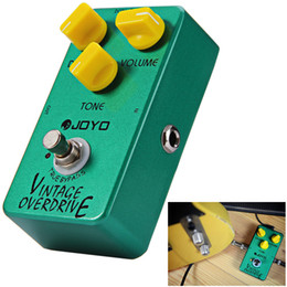 Discount vintage effects pedal - JF - 01 Electric Guitar Effect Pedal True Bypass Design Vintage Overdrive Guitar Effect Pedal with Aluminum Alloy Materi