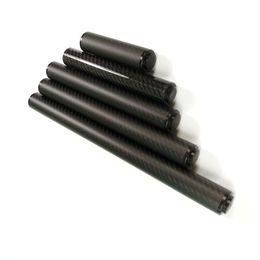 P3 / Mezz ipuçları Bilardo isteka genişletici Aksesuar işaret tampon ile 5/8 / 10/12/15 inç Siyah karbon Bilardo Havuz işaret uzatma