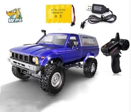 Wholesale WPL C24 RC Car Remote Control car G RC Crawler Off road Buggy Moving Machine WD Kids Battery Powered RTR gift