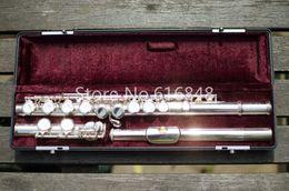 Nickel silver alloys online shopping - Jupiter JFL E II Brand Flute Musical Instrument Keys Holes Closed Cupronickel Silver Plated Flute C Tune Flauta