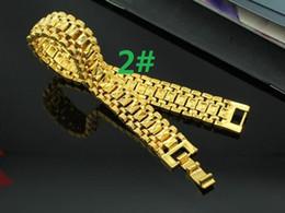 $enCountryForm.capitalKeyWord NZ - European currency Gold ornaments Gold bracelet for men and women Fashion simple Vietnamese gold dust Bracelet 2 style choice