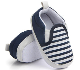 foreign shoes 2019 - Spring foreign trade wholesale Navy Striped fashion baby toddler, baby shoes, children's shoes L659 cheap foreign s