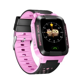 $enCountryForm.capitalKeyWord UK - Sograce GPS Smart Baby Watch Phone For Children Wristwatch Support SIM TF Card Kids Smart Watch For Android Phone Gift Child