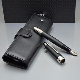 Top lusso Meistersteks 149 canna più spessa classica MB Stilografica Monte marca scrivere inchiostro set penne con sacchetto di penna Migliore regalo di Natale per l'uomo in Offerta