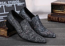 $enCountryForm.capitalKeyWord NZ - High-end new men's business casual shoes, men's leather pointed head rivet shoes, fashionable personality design low help shoes37-46x31