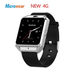 8g watch NZ - wholesale H5 1.54 Inch MTK6737 Quad Core 4G smart watch Phone Android 6.0 8G ROM GPS WiFi Heart Rate Video Call smartwatch men
