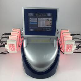 Laser Lipo online shopping - 10 laser pads mw dual wavelength Smart i lipo laser machine weight loss diode lipo laser lipolysis slimming machine