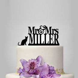 Cat wedding cake toppers australia new featured cat wedding cake 2017 real rushed personalized acrylic mr mrs with 1 cat wedding cake topper wedding stand wedding decoration custom topper junglespirit Gallery