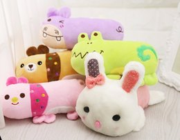 Chinese  Cartoon Hippo Bear Frog Rabbit Plush Sound Toy Pet Pillow Pet Products manufacturers