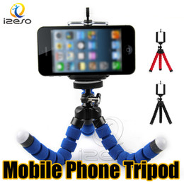 Wholesale Camera Tripod Holder for Mobile Phone Universal Car Mount Stand Bracket Flexible Octopus Tripods Portable Selfie Monopod