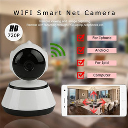 Wholesale New IP Camera V380 HD P Camera WiFi Wireless Smart Security Camera Micro SD Network Rotatable Defender Home Telecam HD CCTV IOS PC