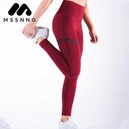 $enCountryForm.capitalKeyWord Canada - MSSNNG Women'S Sports Pants Fast Dry Sweating Vogue Printing 3 Color Black Red Blue Yoga Underpants Size S-XL Sports Pants