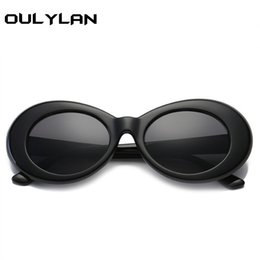 China Oulylan Clout Goggles NIRVANA Round Sunglasses Kurt Cobain Glasses For Women Men Brand Designer Retro Sun Glasses UV400 Eyewear supplier cobain sunglasses suppliers