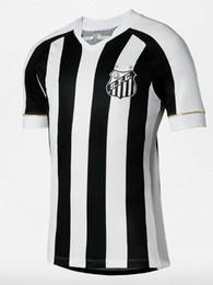 Pele Soccer Jerseys UK - 2018 Santos Football Shirts Futebol Jersey soccer  Victor Ferraz Alison Ricardo d63111c1f