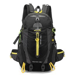 Chinese  40L Waterproof Tactical Backpack Hiking Bag Cycling Climbing Backpack Laptop Rucksack Travel Outdoor Bags Men Women Sports Bag manufacturers