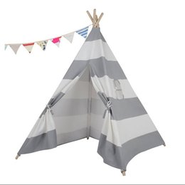 teepee kid play tent children bed tent  sc 1 st  DHgate.com & Teepee Play Tent NZ | Buy New Teepee Play Tent Online from Best ...