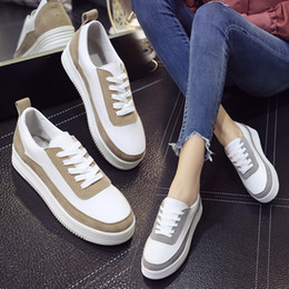 3b4772b278 Designer tenis online shopping - 2018 Spring New Designer Wedges White  Shoes Female Platform Sneakers Women