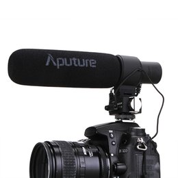 $enCountryForm.capitalKeyWord Canada - Aputure V-Mic D2 Sensitivity Adjustable Directional Condenser Shotgun Video Microphone for Nikon Canon Sony Pentax DSLR Camera