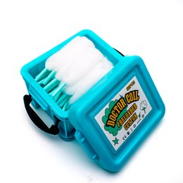 $enCountryForm.capitalKeyWord UK - Shoelace Vape Organic Cotton Doctor Coil Preloaded Cotton for Electronic Cigarette Accessory DIY RBA RDA RTA RDTA MTL Atomizer