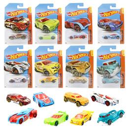 Discount diecast model race cars - Racing Car Toys four wheel sports car Cartoon toy car model Automobile ornament Diecast Model Cars Gift