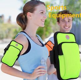 $enCountryForm.capitalKeyWord Australia - 9 Colors Outdoor Sport Cellphone Arm Bags Running Fitness Wristband Arm Bag cycle Mobile phone bag wallet key Storage bag 50pcs DHL #SJ01