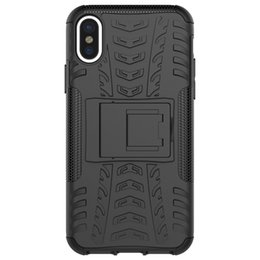 Tyre case online shopping - For iphone case Rugged Tyre Armor Phone Case Hybrid PC TPU Heavy Duty ShockProof Bracket phone Cover