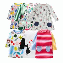 991464d436e4 flower girls frock designs 2019 - 2018 Autumn newest design girls flower  frocks children clothes hot