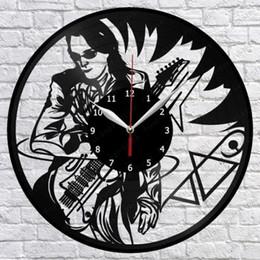 Опт Steve Vai Виниловые пластинки для настенных часов Fan Art Home Decor Handmades Art Personality Gift (размер: 12 дюймов, цвет: черный)
