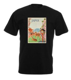 $enCountryForm.capitalKeyWord UK - VINTAGE TRAVEL Japan T-shirt-Retro Prints -Home-Holiday Short Sleeve Mens Formal Shirts Printed T-Shirt Men