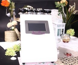 Wholesale Hot in1 ultrasound Cavitation Radio frequency Ultrasonic Weight Loss Liposuction Bipolar RF Vacuum Slimming machine no blood stasis