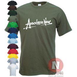 Vietnam White NZ - APOCALYPSE NOW Vietnam war Vietcom military DVD t-shirt Funny free shipping Unisex Casual gift