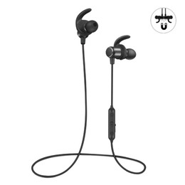 xiaomi earbuds UK - Fit Sport Bluetooth Earphone Wireless Bass Headphones IPX5 Bluetooth Earbuds for iPhone android samsung xiaomi with Mic