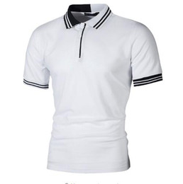 f03792463 Polo shirts business online shopping - New Men Polo Shirt Men Business  Casual Pactwork Male Polo