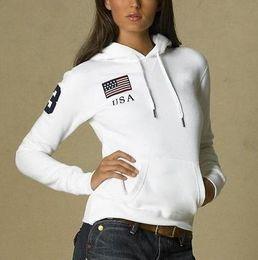$enCountryForm.capitalKeyWord Australia - Hot Sale Women Polo Hoodies USA France Italy Country Flag Jogging Sweatshirts With Horse Sports Coats Hooded Jacket S-XL