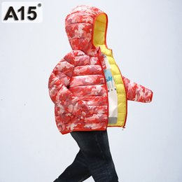 Discount russian parka - A15 2018 Fashion Boys Down Parkas Jackets Winter Parka Coat Russian For Boy Children Camouflage Down Jacket For Boy Thic