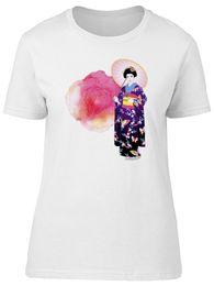 japanese man s kimono 2018 - Beautiful Japanese Kimono Lady Women's Tee -Image by Shutterstock Funny free shipping Unisex Casual tee gift cheap