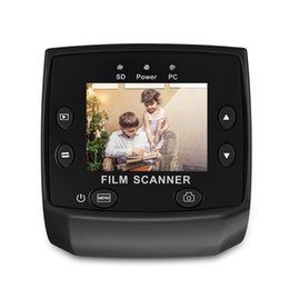 Lcd screen viewer online shopping - EC717 MP mm Negative Film Slide Viewer Scanner TFT LCD Screen USB Film Scanners Support Multi Languages